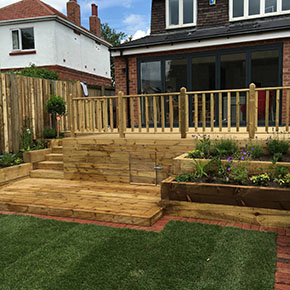 Decking in York